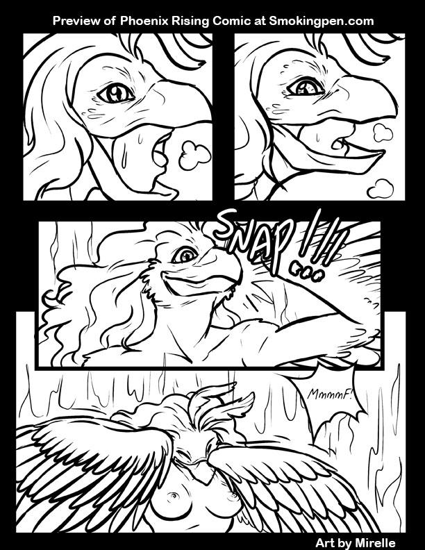 Preview Phoenix Comic page 7